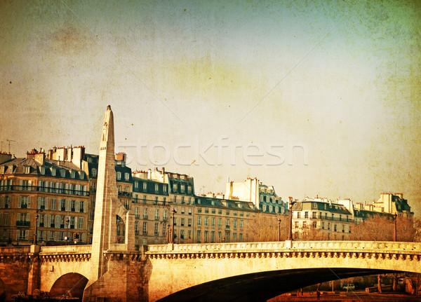 Ponte la inglês arco rio livro Foto stock © ilolab