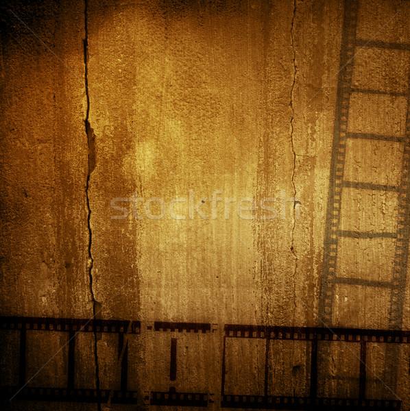 Сток-фото: Гранж · фильма · кадр · эффект · кинопленка