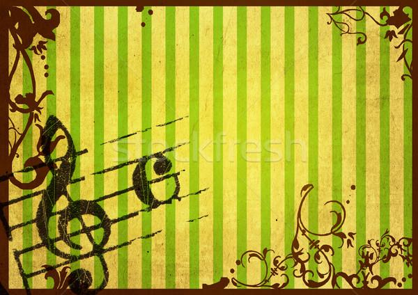 Гранж мелодия аннотация текстуры фоны пространстве Сток-фото © ilolab