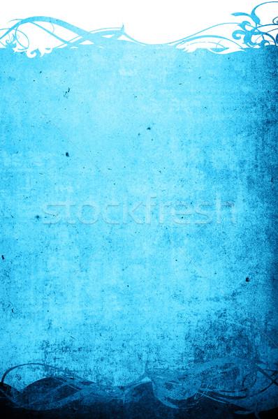 Grunge frame dettagliato spazio Foto d'archivio © ilolab