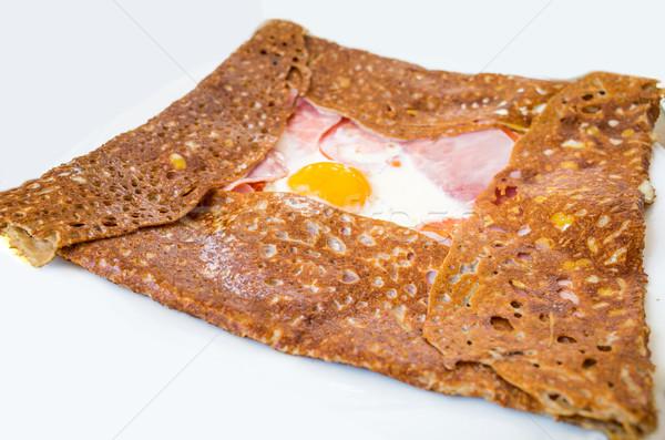 Homemade french buckwheat galette  Stock photo © ilolab