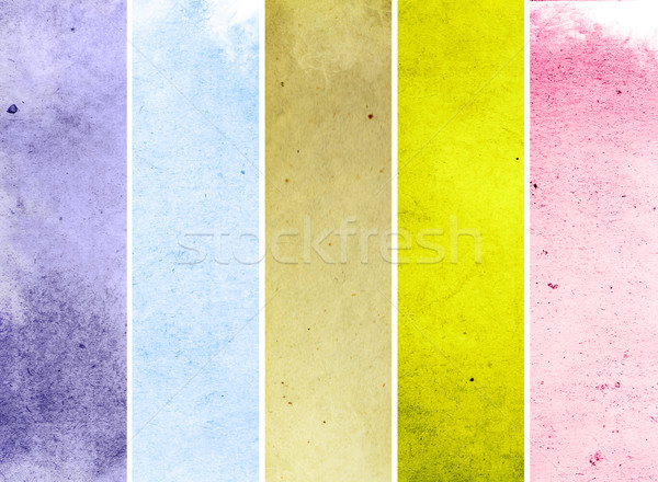 Stock photo: The Best of collection grunge background