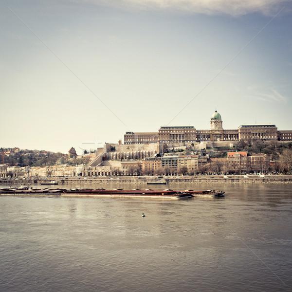 ストックフォト: 美しい · 表示 · 歴史的 · ロイヤル · 宮殿 · ブダペスト