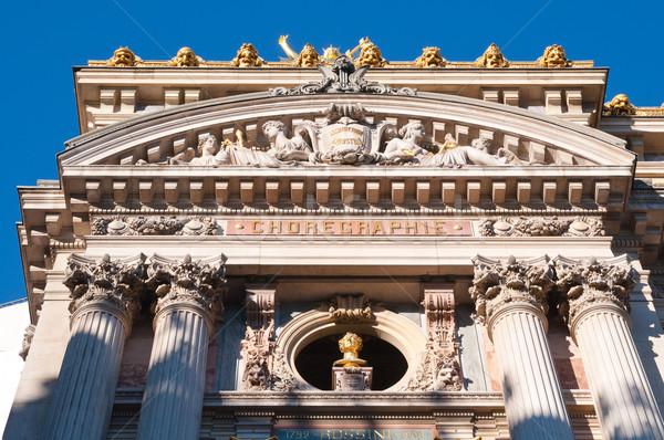 опера Париж Франция город путешествия обои Сток-фото © ilolab