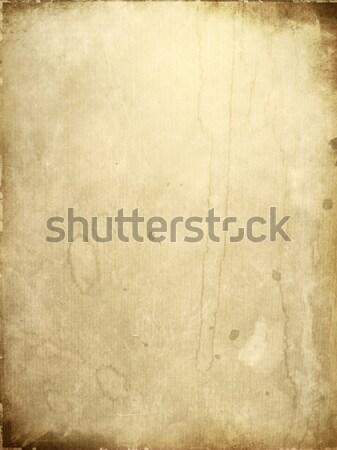 öreg rongyos papír textúrák tökéletes űr Stock fotó © ilolab
