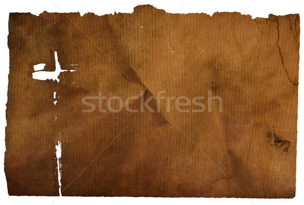 старой бумаги текстуры пространстве текста изображение текстуры Сток-фото © ilolab