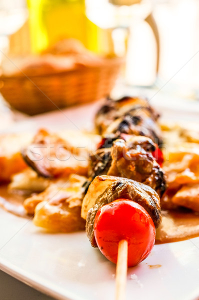 Chicken skewers  Stock photo © ilolab