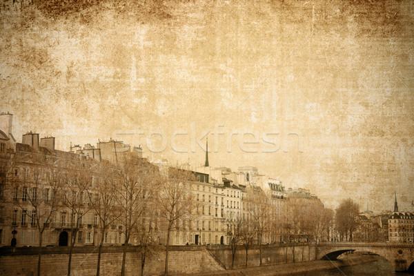 Paris France belle parisien rues espace Photo stock © ilolab