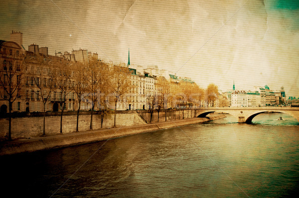 красивой парижский улиц город фон обои Сток-фото © ilolab