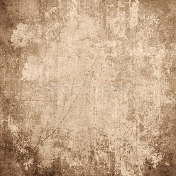 Stok fotoğraf: Karanlık · bağbozumu · Retro · kâğıt · doku · duvar