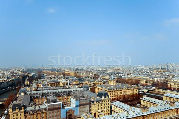 старомодный Париж Франция пространстве текста изображение Сток-фото © ilolab