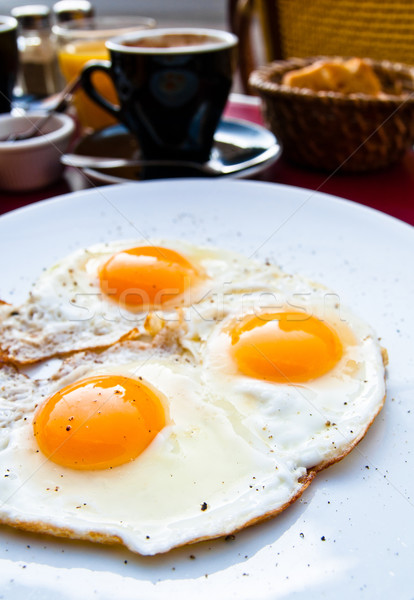 Prepared Egg Stock photo © ilolab