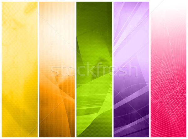 abstract Cool waves Stock photo © ilolab