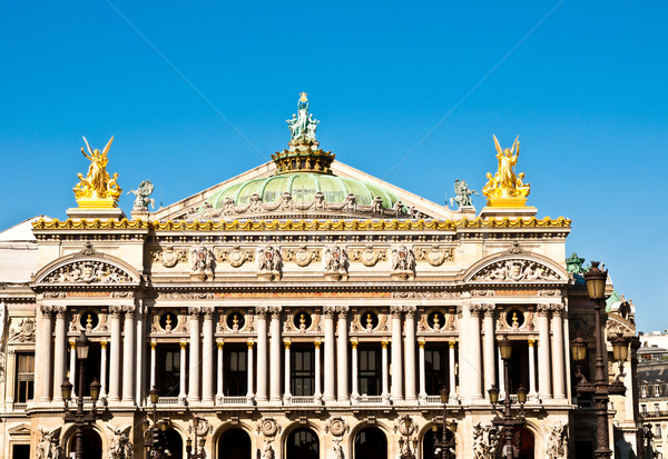 опера Париж Франция один архитектурный город Сток-фото © ilolab
