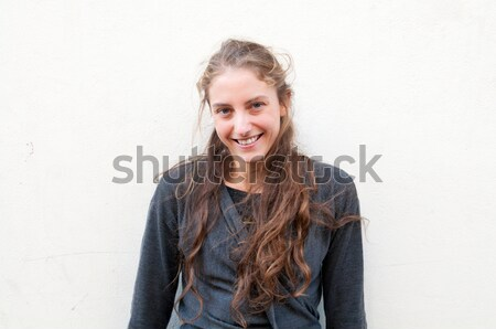 Stock photo: enjoying success with clenched fists