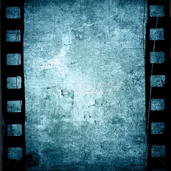 Taśmy filmowej tekstury środowisk przestrzeni film Zdjęcia stock © ilolab