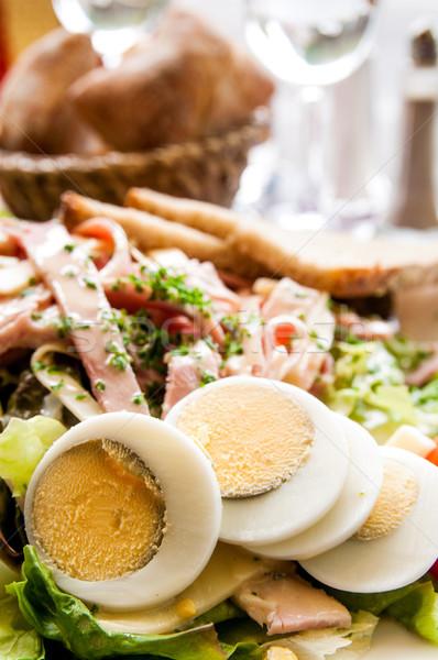 Delicious fresh salad Stock photo © ilolab