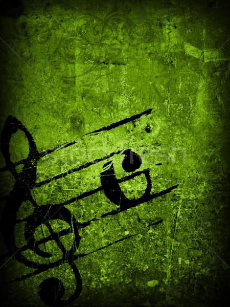 Grunge mélodie textures résumé horizons espace Photo stock © ilolab