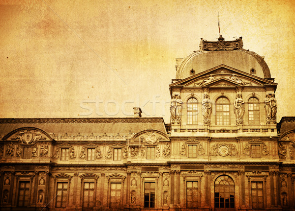 Лувр дворец музее Париж здании многие Сток-фото © ilolab