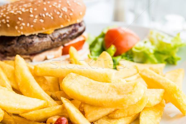 Cheese burger Stock photo © ilolab
