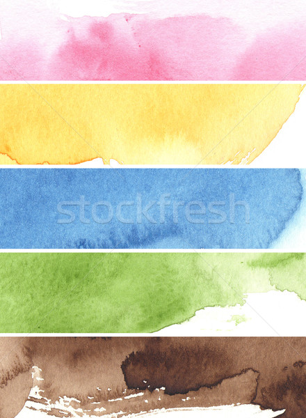 great watercolor background Stock photo © ilolab