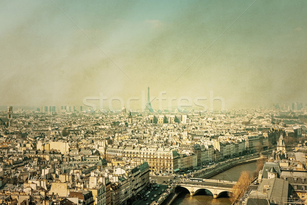 old fashioned paris france Stock photo © ilolab