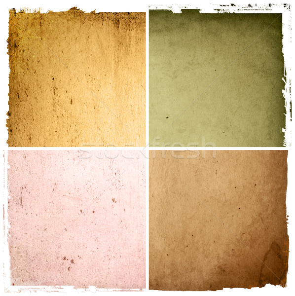 grunge style - containing different textures Stock photo © ilolab