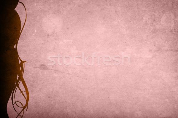 Floreale stile texture sfondi frame spazio Foto d'archivio © ilolab