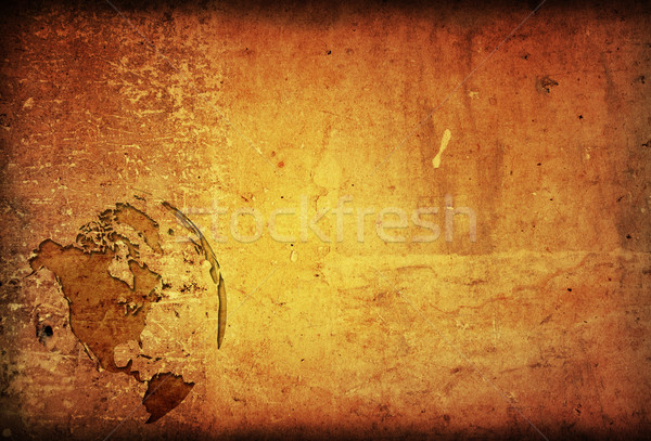 aged America map vintage artwork for your design Stock photo © ilolab