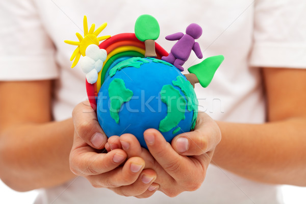 Life on earth - environment and ecology concept Stock photo © ilona75