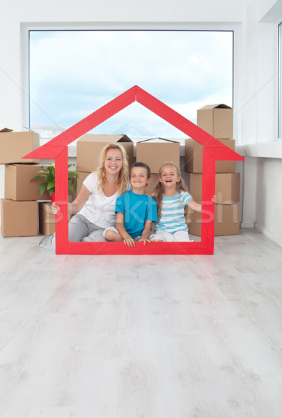 New home concept Stock photo © ilona75