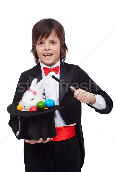 Giovani mago Pasqua trucco Foto d'archivio © ilona75