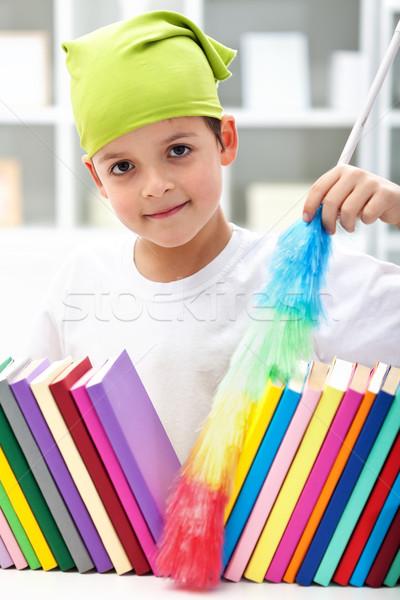 Cleaning my room Stock photo © ilona75