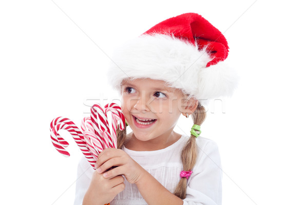 Happiness is natural around christmas Stock photo © ilona75