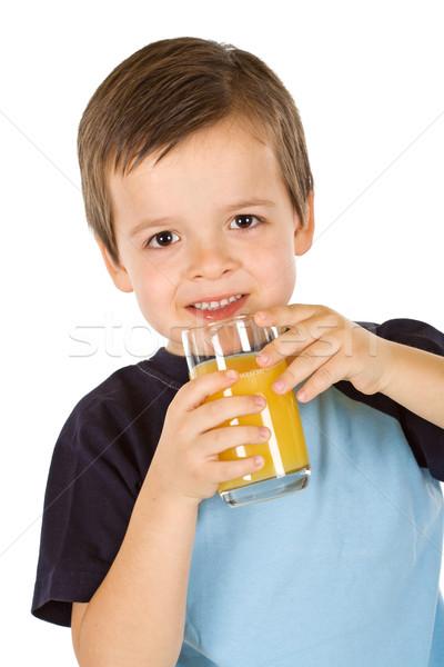 The fresh and healthy fruit juice Stock photo © ilona75