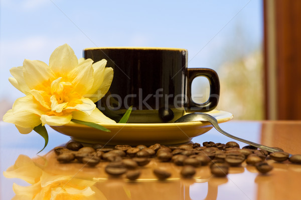 Stock photo: Morning coffee