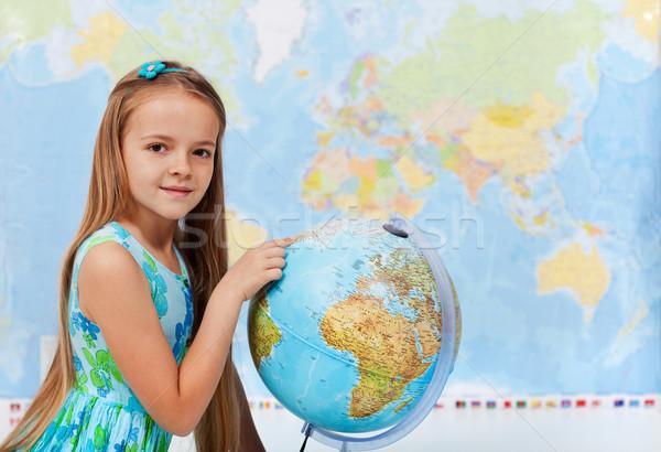 Interessante spot mondo successivo Foto d'archivio © ilona75