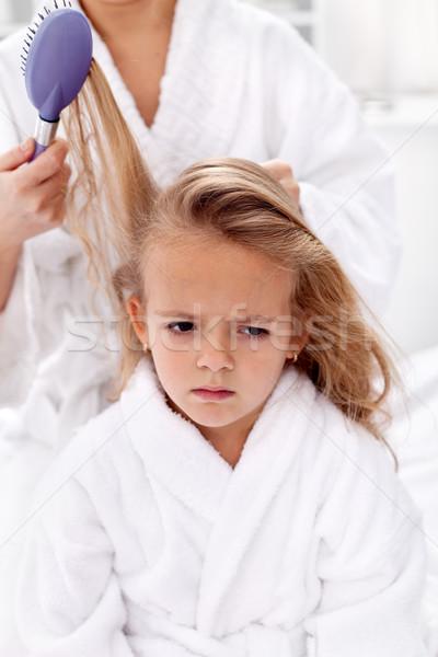 волос цен красоту более девочку Сток-фото © ilona75