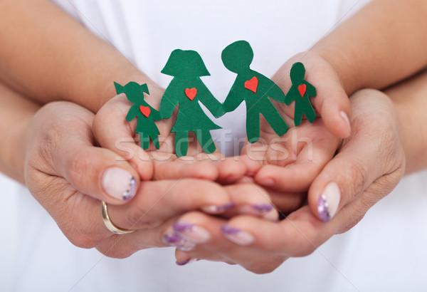 Loving family concept Stock photo © ilona75