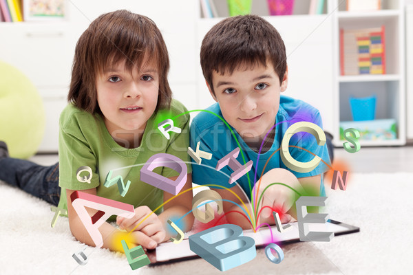 Modern education and online learning possibilities Stock photo © ilona75