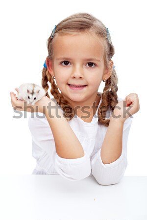 Here is my hamster Stock photo © ilona75