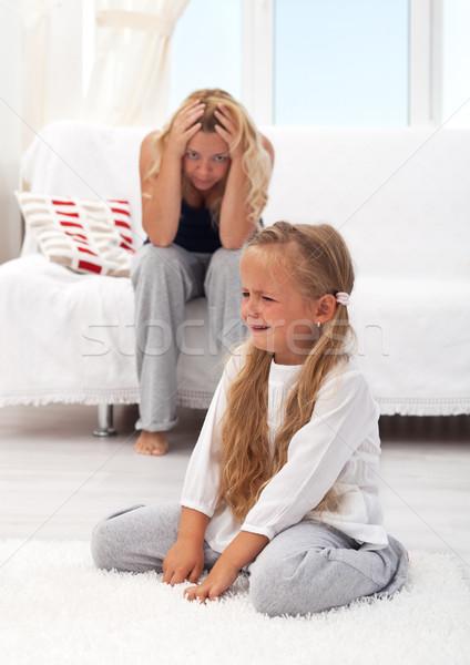 Kid having a tantrum Stock photo © ilona75