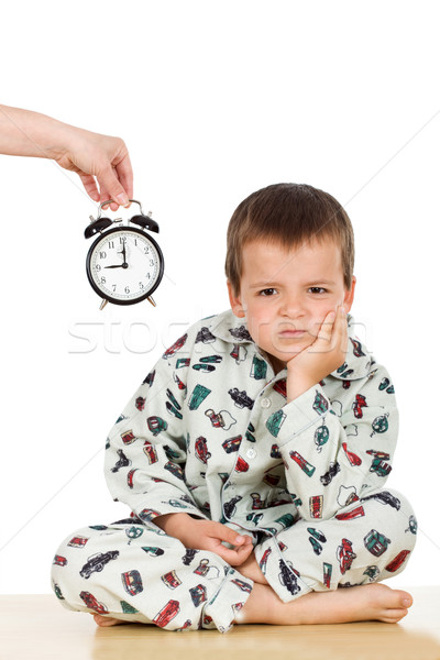 Bedtime for a displeased kid Stock photo © ilona75