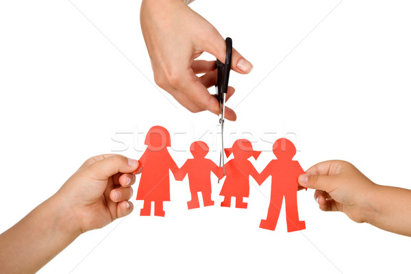 Divorce effect on kids concept Stock photo © ilona75