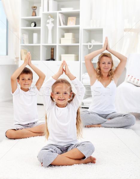 Healthy life education concept Stock photo © ilona75