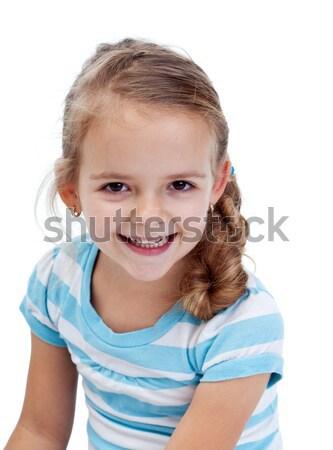 Smiling little girl Stock photo © ilona75