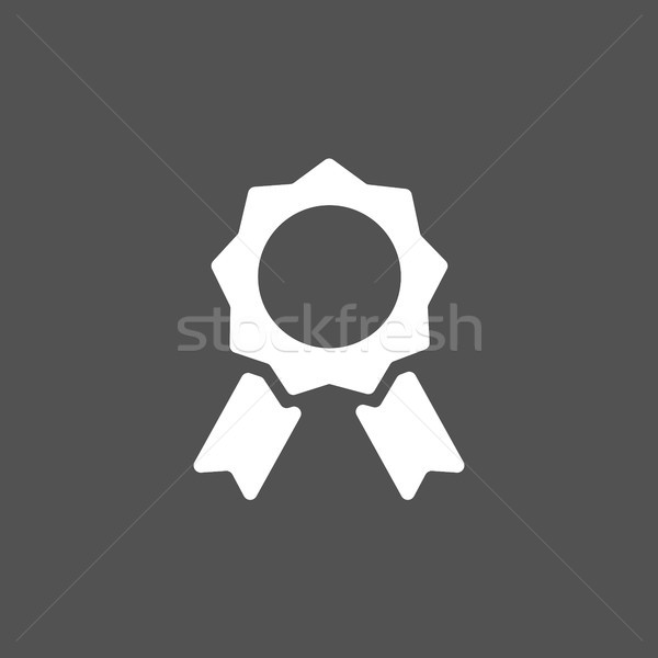 Seal of authenticity on black background Stock photo © Imaagio