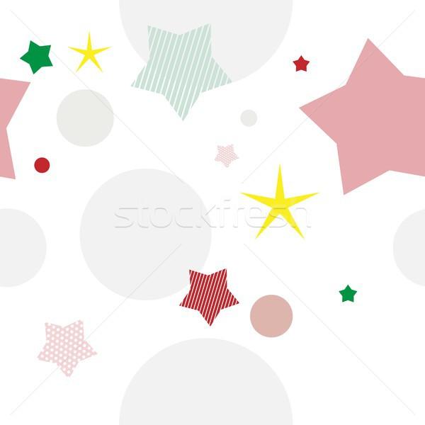 Сток-фото: пространстве · звезды · планеты · белый · бумаги · текстуры