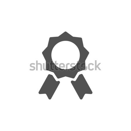 Seal of authenticity on white background Stock photo © Imaagio