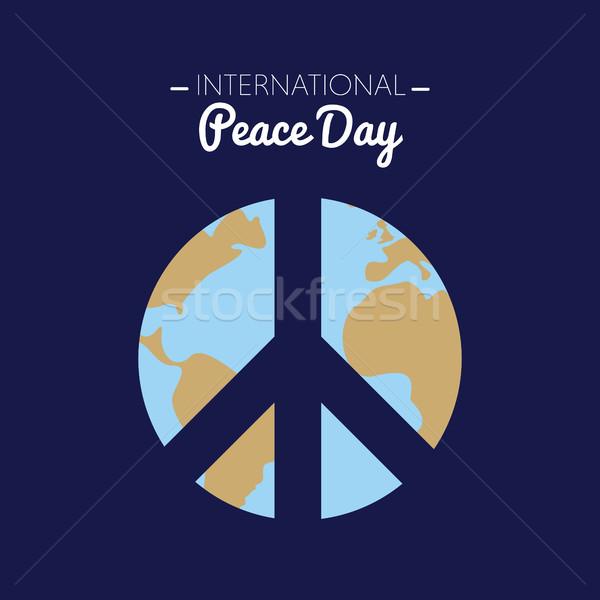 международных мира день земле символ любви Сток-фото © Imaagio